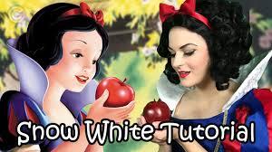 snow white cosplay makeup tutorial