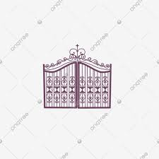 European Iron Gate European Style Door Iron Gate Png Transparent Clipart Image And Psd File For Free Download