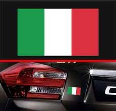 4 Italian Flag Vinyl Decal Bumper Sticker Italy Flag Macbook Decal Car Sticker Ebay