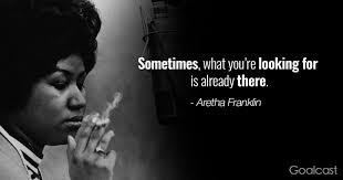 aretha franklin quotes to gain confidence
