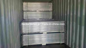 China 2 1x2 2m Standard Temporary Fence Panel For Bunnings Warehouse China Temporary Fencing Temp Fence Panel