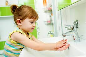 نظافة الجسم للاطفال