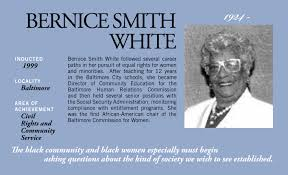 Bernice Smith White | Maryland Women's Heritage Center