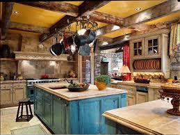 17 amazing log cabin kitchen design to