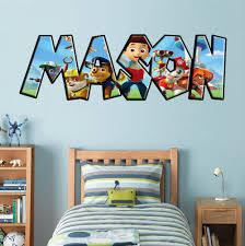 Kids Personalized Custom Name Wall Sticker Decal 001 Decalz Co