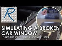 Broken Car Window Prank How To Using Rubber Glass Clear Silicone Youtube