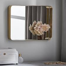rounded corners inset mirror products
