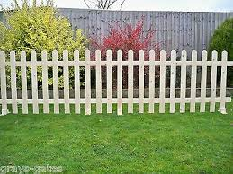 Freestanding Portable Event Display Barrier Temporary Wooden Picket Fence Panels 43 00 Picclick Uk
