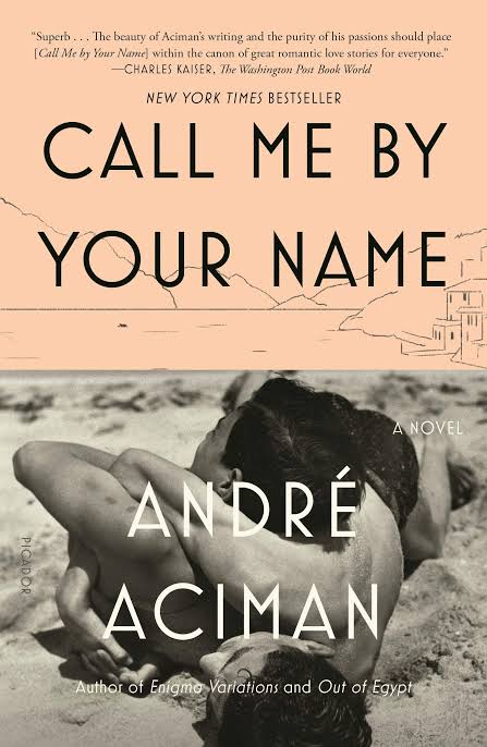 Image result for call me by your name book cover""