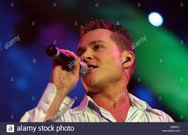 Pop Idol Concert Aaron Bailey Stock Photo - Alamy