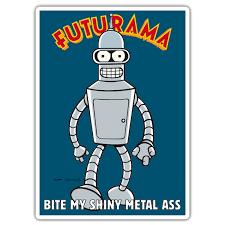 Sticker Bender Futurama Muraldecal Com
