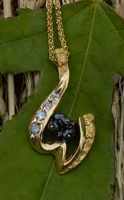 alaskan gold nugget pendants and necklaces