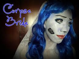 corpse bride with diy hairband veil