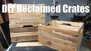 custom diy stacking wood crates you