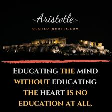 aristotle quote educating the mind out quote of quotes