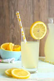 sugar free lemonade recipe homemade