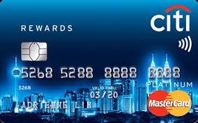 Citibank Rewards Platinum MasterCard - Citibank Rewards Platinum ...