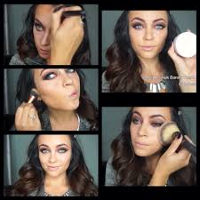 how to use powder contour makeup