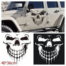 1x The Punisher Skull Sticker Car Rear Window Tuning Bonnet Archives Midweek Com