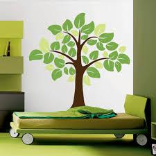 Big Leafy Tree Wall Decal Decalmywall Com