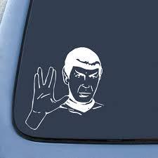 Spock Sticker Decal Notebook Car Laptop