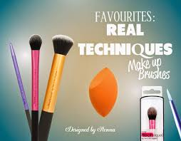 favourites real techniques make up