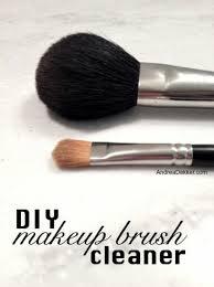 diy makeup brush cleaner andrea dekker