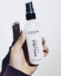 l oréal infallible fixing mist review