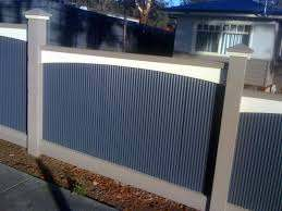 Mini Orb Colorbond Fence Backyard Patio Designs Outdoor Privacy Fence Design