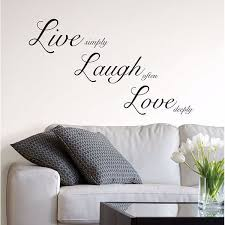 Wpq1744 Live Laugh Love Wall Quote By Wallpops