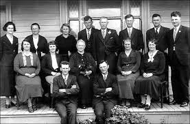 Josef and Idda's Golden Wedding celebration on 31 October 1936