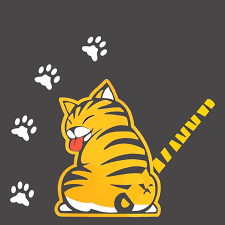 Moving Tail Wiper Rear Windshield Cat Car Stickers Wagtail Creative Personality Cartoon Funny Decal Styling Decoration Universal Car Stickers Aliexpress