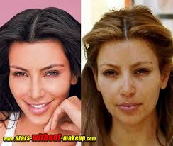 kim kardashian ugly without makeup