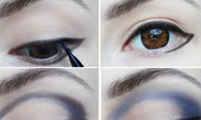 eye makeup design for an animated look