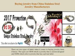 jewelry from china snless steel