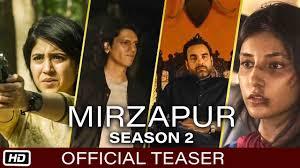 MIRZAPUR Season 2 Official Teaser Out ...