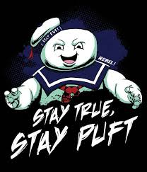 Stay True Stay Puft Ghostbusters Vinyl Sticker Etsy Classic Cartoon Characters Ghostbusters Classic Cartoons