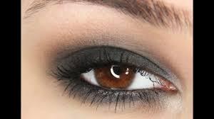 black smokey eye tutorial