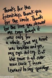 friendship quotes i have learned to say goodbye life quotes