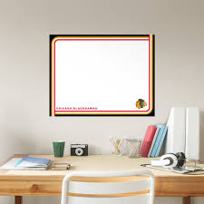 Chicago Blackhawks Dry Erase Whiteboard X Large Officially Licensed Nhl Removable Wall Decal
