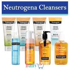 qoo10 neutrogena cleanser skin care