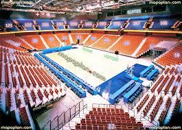 mohegan sun arena seat row numbers