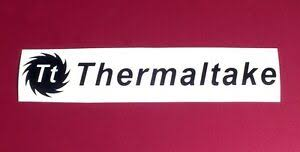 Pair Thermaltake With Saw Blade Vinyl Decal Sticker Computer Pc Laptop Case Mod Ebay