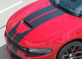 2015 2021 Dodge Charger Racing Stripe S Pack R T Scat Pack Srt 392 Hellcat Auto Motor Stripes Decals Vinyl Graphics And 3m Striping Kits