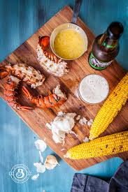 Grilled Garlic Beer Butter Lobster ...