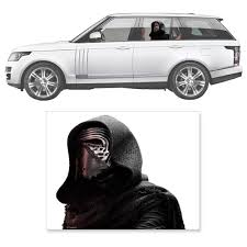Star Wars Kylo Ren Window Wrap Passenger Series Car Decal Star Wars Entertainment Earth