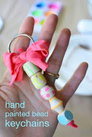 hand painted beaded key chains meri