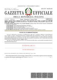 Il nuovo decreto del Presidente del Consiglio dei Ministri del 1 ...