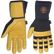 Unbranded Lineman Work Glove Large 40082 The Home Depot