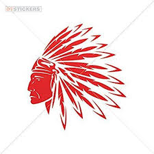 Decal Stickers Native American Chief Motorbike Boat Silhouette Past Sport Battle 6 X 5 56 Inches Indian Wall Art American Indian Tattoos American Indian Art